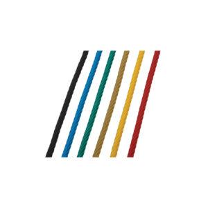 színes acélbetétes kötél elemek