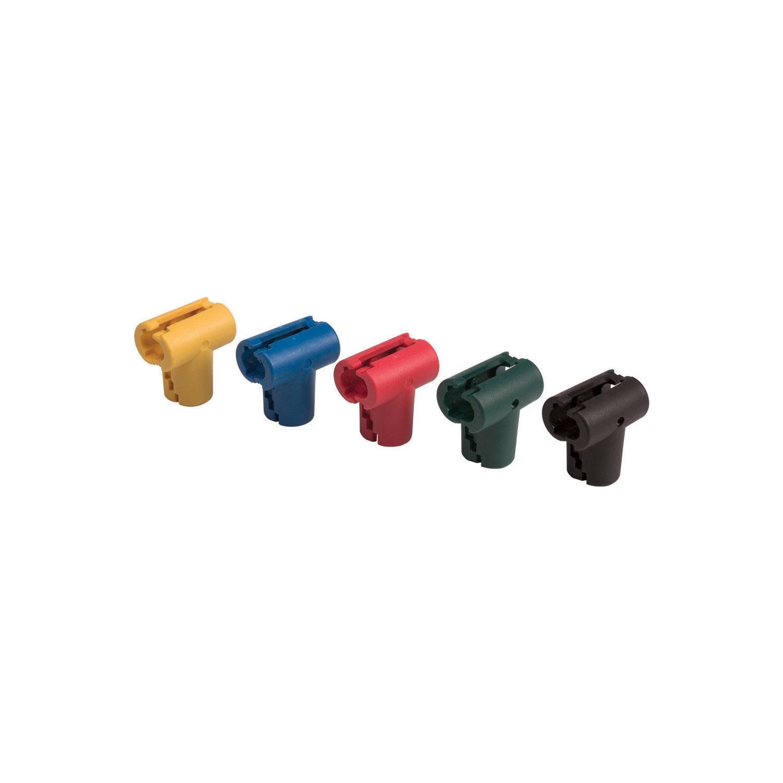 színes T-idom csatlakozó elemek