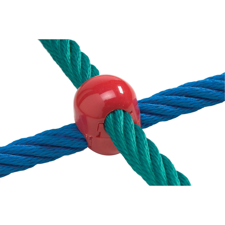 piros kötélrögzítő csatt