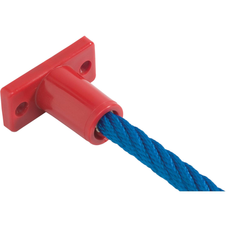 talpazati rögzítő piros és kék kötél