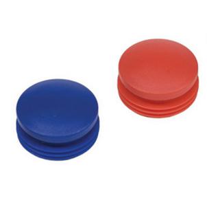 piros és kék csavartakaró