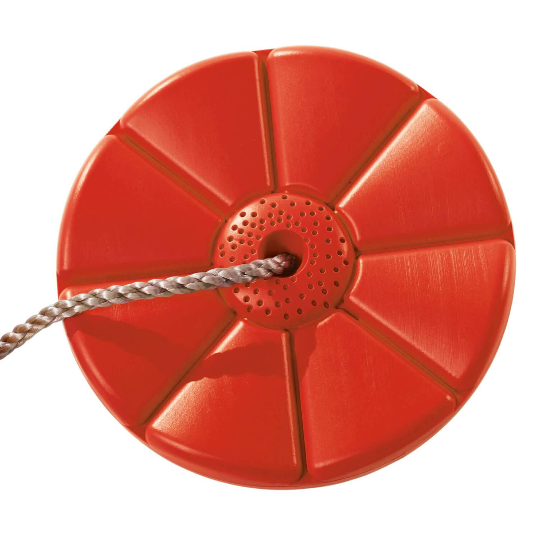 műanyag piros tányérhinta ülőke