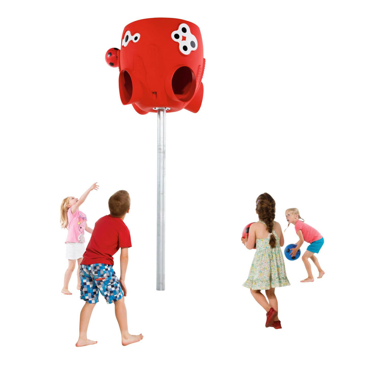 polip labdafogó játszás gyerekekkel