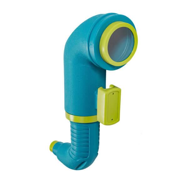 kék játszótéri periszkóp