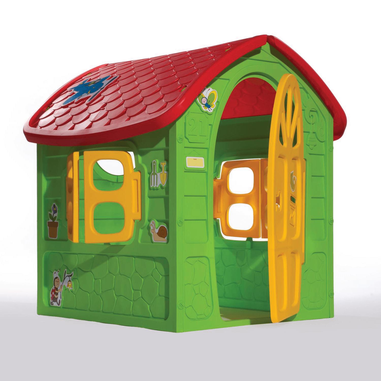 zöld méhecskés játékház
