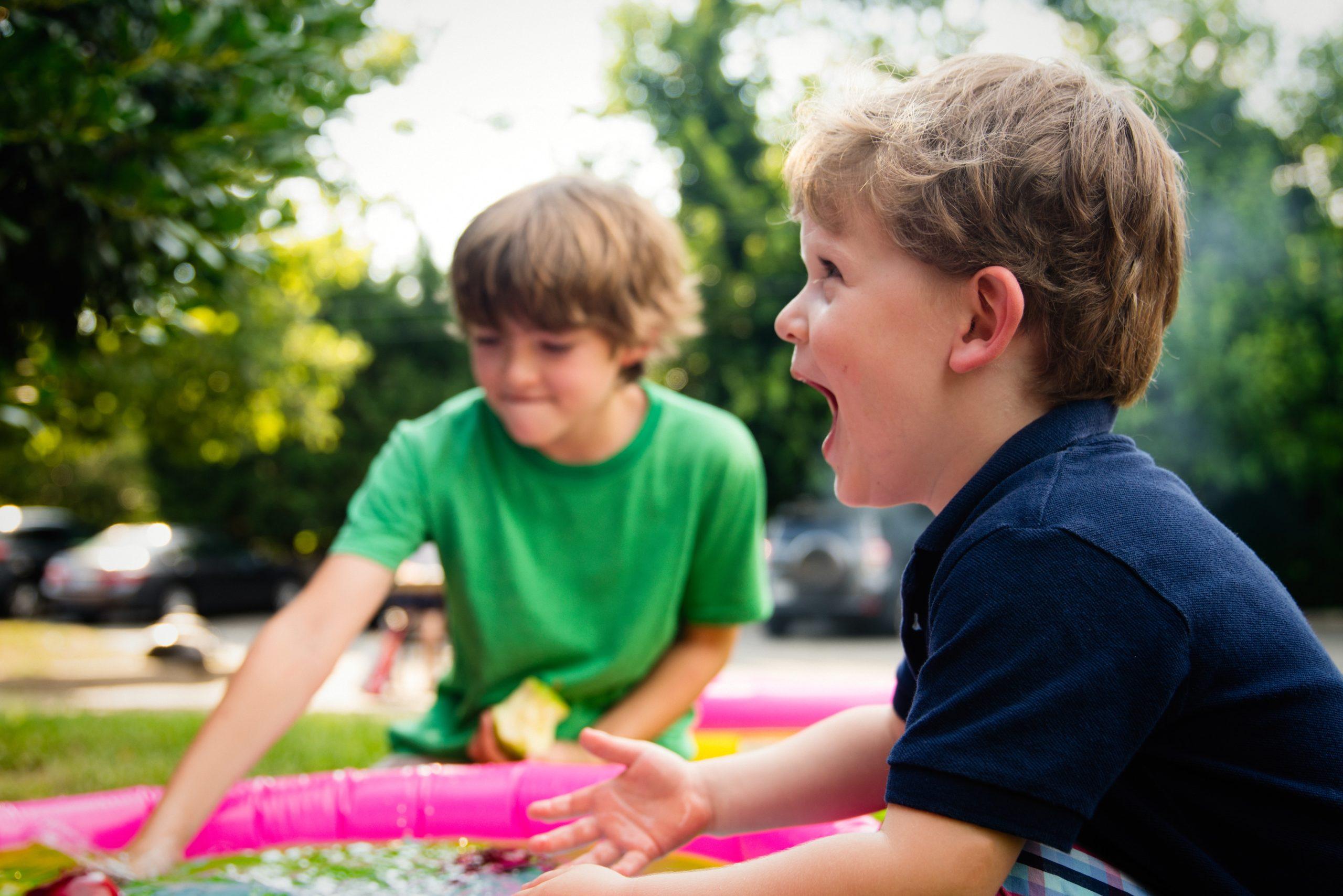 Vízi játékok a Játszótérland-en