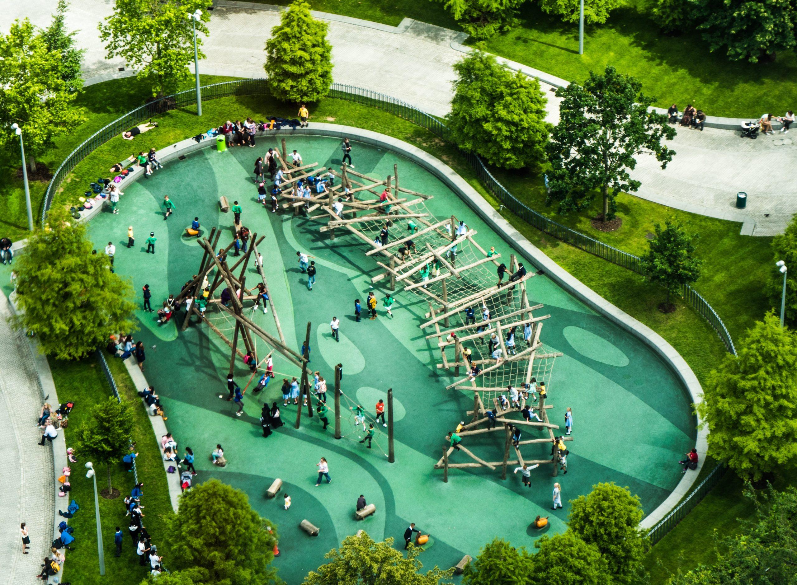 Izgalmas játszóterek a világ körül